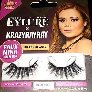 NEW!! EyelurexKRAZYRAYRAY Faux Mink False Eyelash